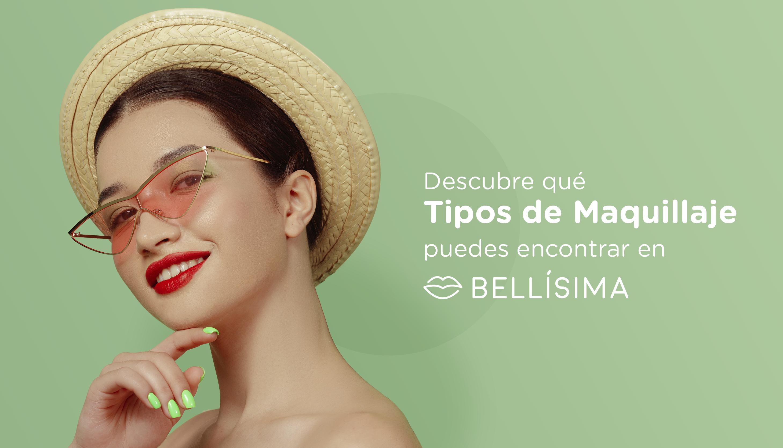 Descubre qué tipos de maquillaje puedes encontrar en Bellísima